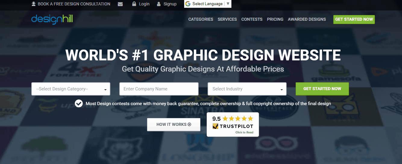 99designs vs designhill